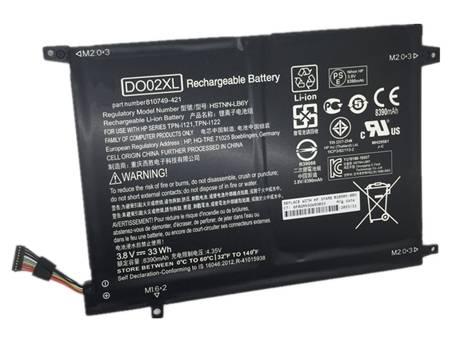 DO02XL,HSTNN-LB6Y TPN-I121 TPN-I122 810749-421 810985-005